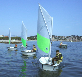 Voile hobie cat
